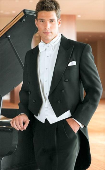 Long Tail Tuxedo Suit