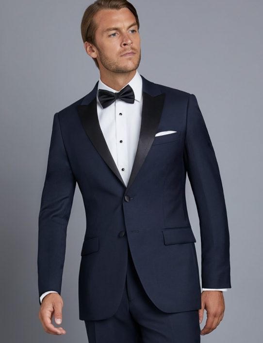 Midnight Blue Tailor made Tuxedo