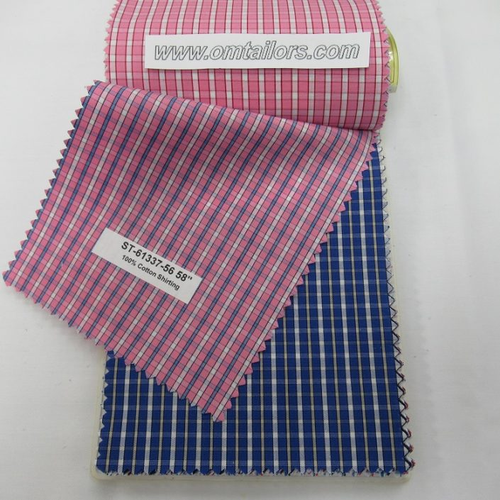 Tailor made to measure Shirt Fabric