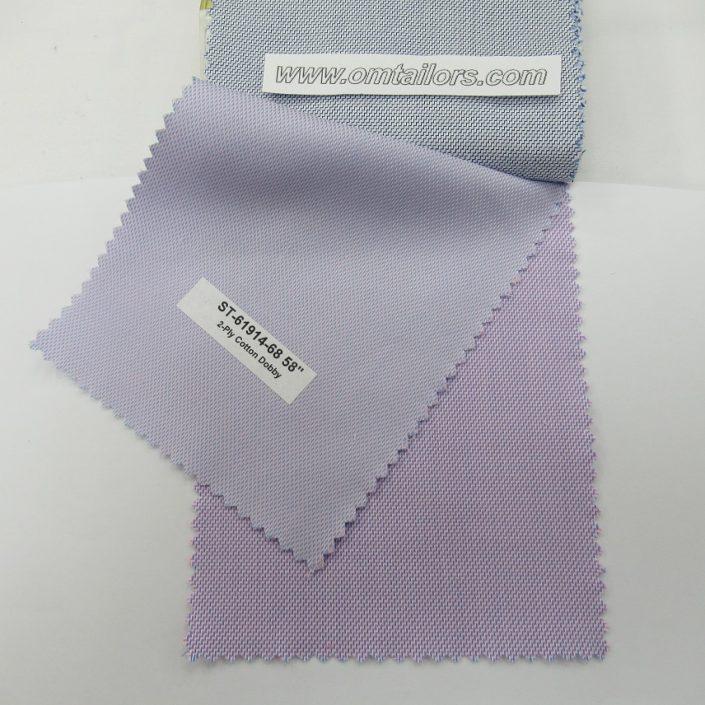 Custom Tailored Shirt Fabric