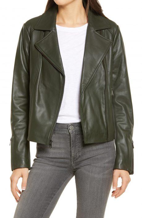 Women Tailored Leather Jacket